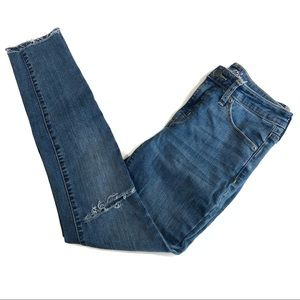 Universal Thread High Rise Distressed Skinny Jeans